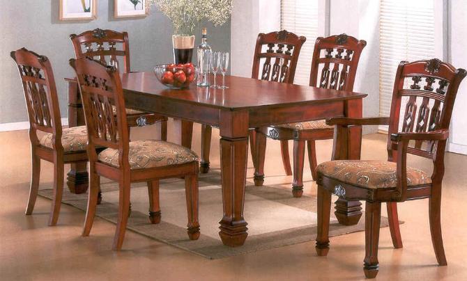 Dining Set 4 6 8 Main